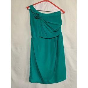 One shoulder boutique dress